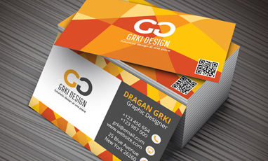 The small but mighty business card