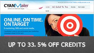 33.5% off credits